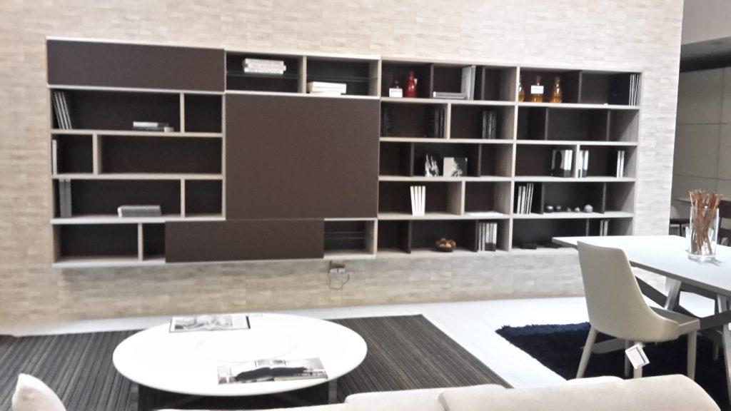 Libreria soggiorno l 39 abitare arredamenti for Abitare arredamenti camerette